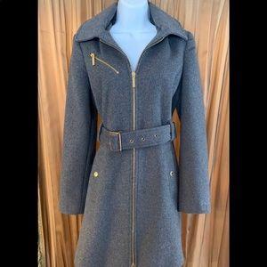 Gray Michael Kors winter coat